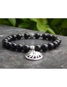 Bracelet en pierres naturelles de spinelle