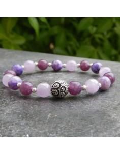 Bracelet chakra couronne Sahasara