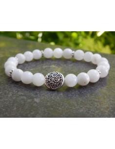 Bracelet en pierres naturelles de pierres de lune