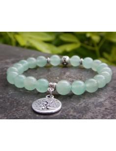 Bracelet en pierres naturelles d'aventurine